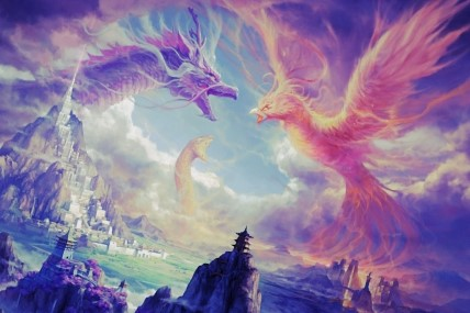 Dragons and Phoenix