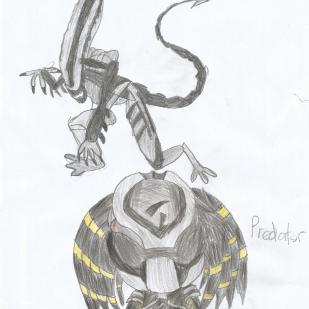 Xenomorph and Predator