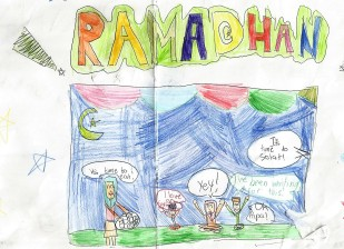 Ramadhan Drawing