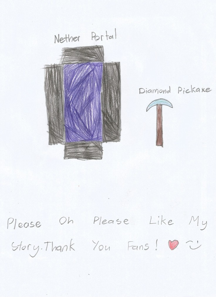 Nether and Pickaxe