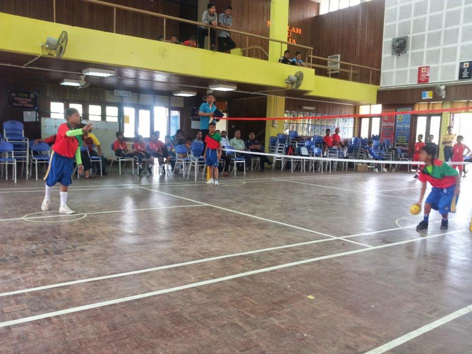 Sepak Takraw and Kids