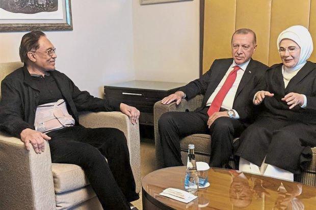 Anwar and Erdogan