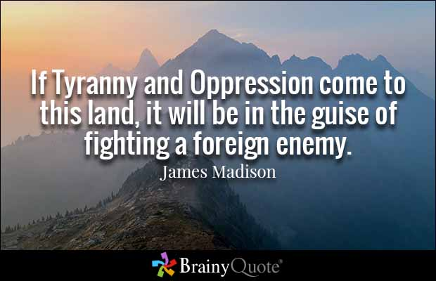 Quote James Madison