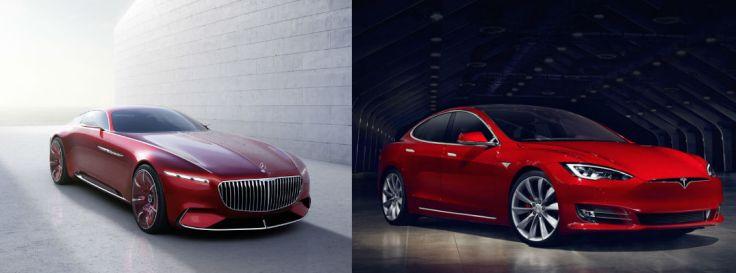 Maybach and Model S