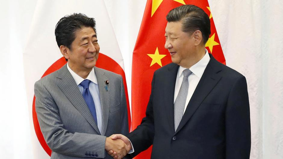 abe and xi