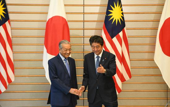 Japan and Malaysia