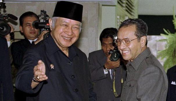 Suharto and Mahathir